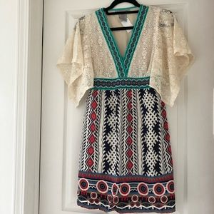 NWT - Flying Tomato Crochet Lace Top Dress